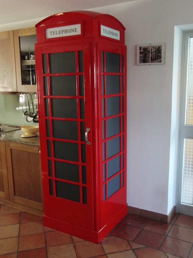 Cabina frigo english style arredolegno for Incasso in inglese