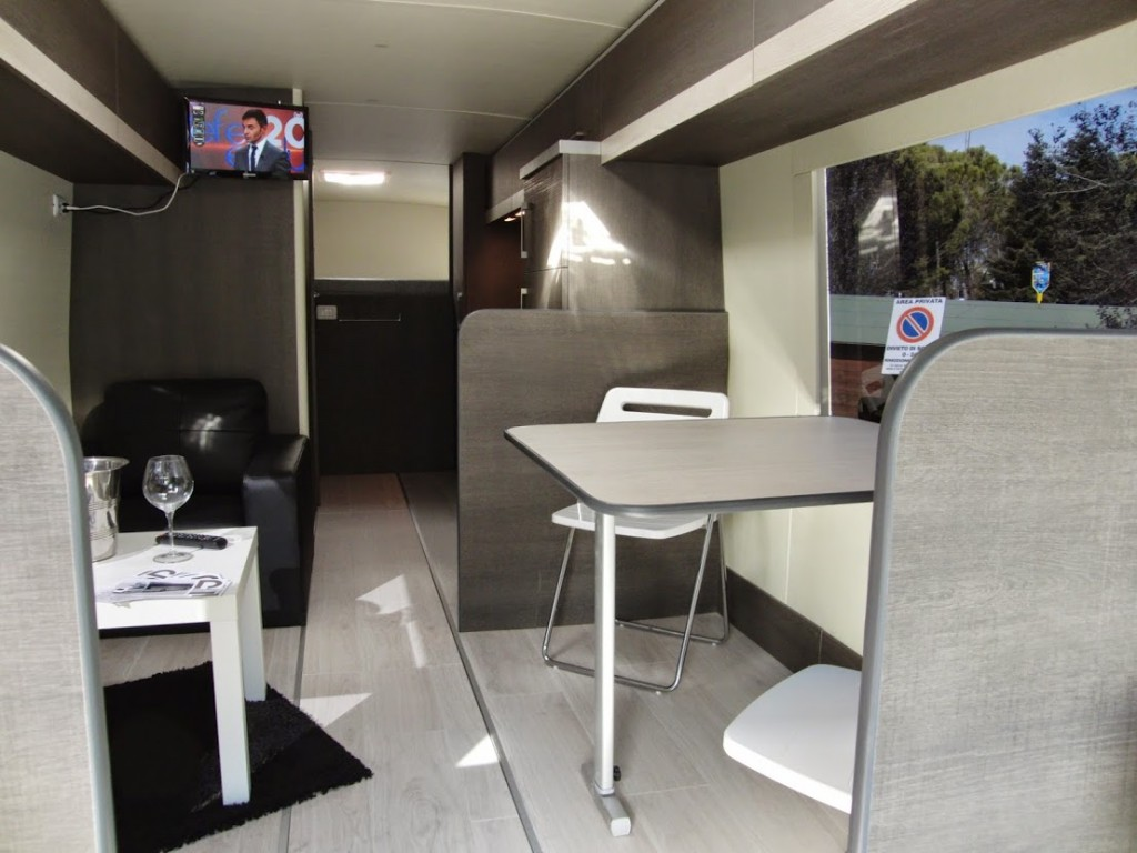 Camper con garage auto  ArredoLegno